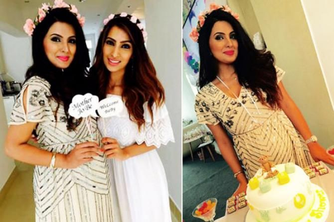 geeta basra baby shower 10 Bollywood And TV Divas Who Looked Like A Doll On Their Baby Shower