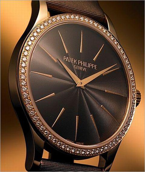 chocolate diamonds value | Patek Philippe Calatrava Ref. 4897 R ladies watch | World Watch Review - cute womens watches, silver and white womens watches, buy womens watches online