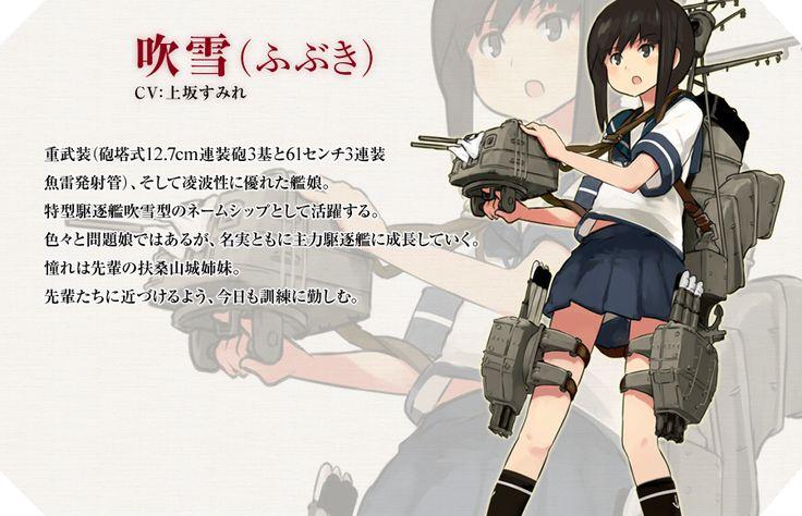 艦娘紹介:駆逐艦 吹雪(ふぶき)