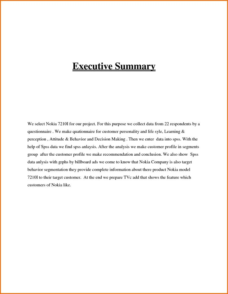 19 best Executive Summary Templates images on Pinterest - sample meeting summary template