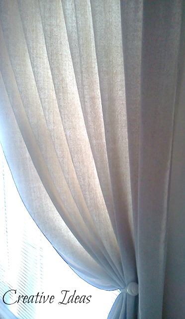 BEAUTIFUL Drop Cloth Curtains