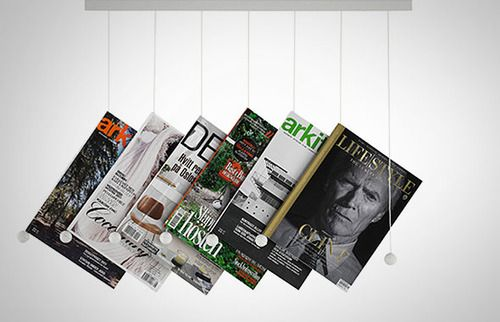 The classic: a basket. The twise: hanging magazine rack by Swedese.: Chen Design, Swede Riddles, Magazines Storage, Swedes Riddles, Magazines Racks, Isaac Chen, Accessories, Magazines Hangers, Riddles Magazines