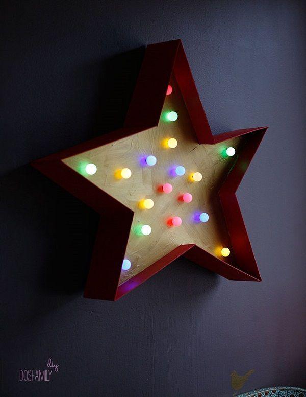 DIY: Siluetas y Rotulos Luminosos para la habitación infantil - DecoPeques