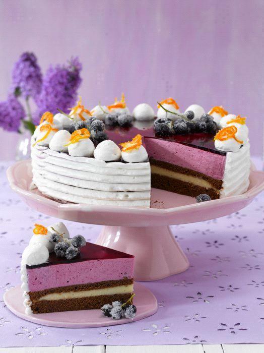 cassis sahne orangen torte blackcurrant orange cream cake von by bernd siefert mig maike. Black Bedroom Furniture Sets. Home Design Ideas
