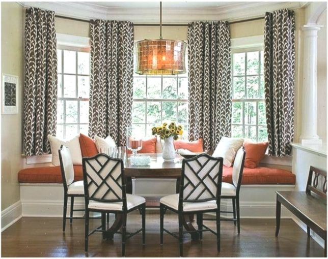 Kitchen Eye Catching Kitchen Best 25 Breakfast Nook Curtains Ideas On Pinterest Breakfast Catc Window Seat Kitchen Dining Room Windows Living Room Windows