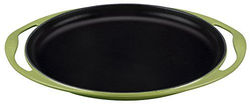 "Le Creuset of America Enameled Cast Iron Sizzle Platter, 12 1/4"", Palm"