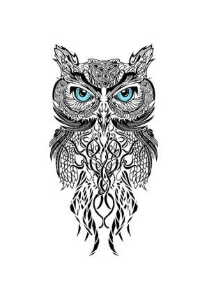 geometric owl - Google Search