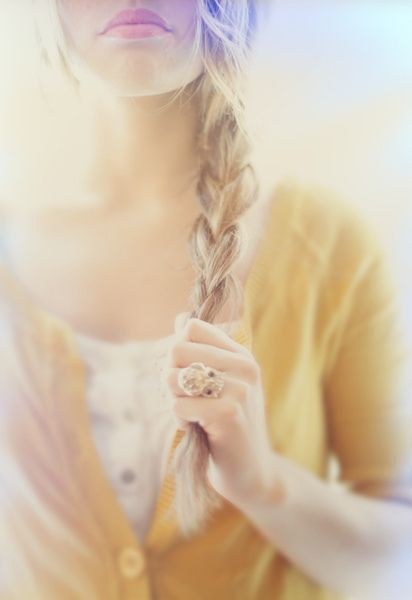 yellow: Braids Hair Style, Blonde, Color, Long Hair, Soft Lights, Long Braids, Girls Hairstyles, Side Braids, Photography