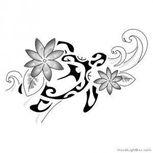 Motif tatouage polynesien et maori (46) Plus