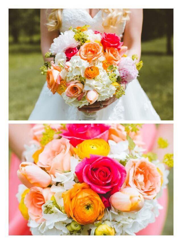 Bouquets by @AuroraFloraOH | Photo by Rachel Joy Baransi http://www.racheljoybaransi.com/