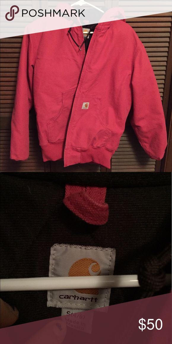 Rare pink carhartt jacket Brand new w/o tags Carhartt Jackets & Coats Utility Jackets