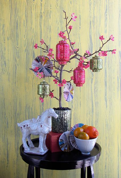 HAPPY CHINESE LUNAR NEW YEAR! Today is the first day of 15 days of celebration. Find out what The Year of the Horse (2014) is all about. #thedecoratedtree http://www.thedecoratedtree.blogspot.com/2014/01/chinese-lunar-new-year.html