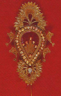 Sardinia gold jewelry