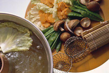 Fondue mit Gemüse - Rezept