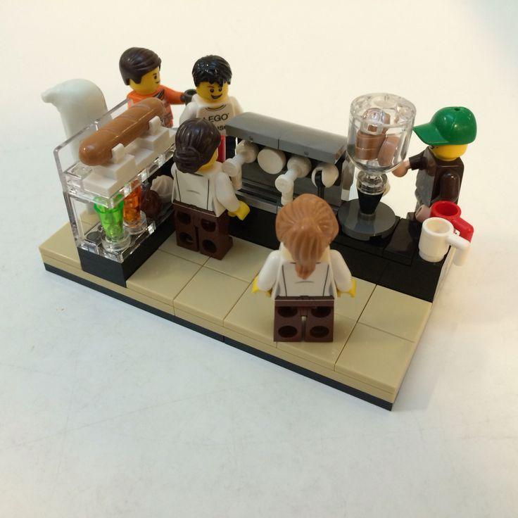 LEGO staff coffee shop #moc