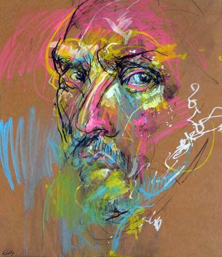 SELF PORTRAIT by Craig Ruddy | Richard Martin Art - Craig Ruddy - NEW WORK