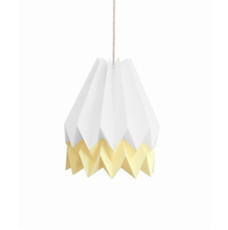 #Light #Origami lamp wit pastel geel from www.kidsdinge.com      https://www.instagram.com/kidsdinge/ https://www.facebook.com/kidsdinge/ #kidsdinge
