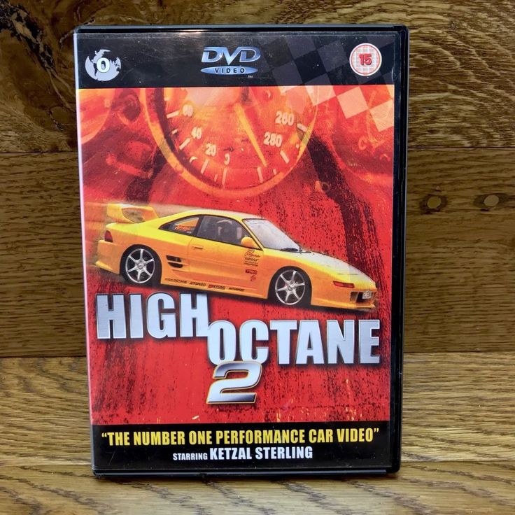 High Octane 2 DVD the number one performance car video starring ketzal sterling