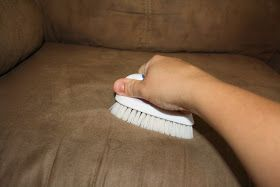 Tada's Kooky Kitchen: How to: Clean Microfiber Couches AND get the water spots out too!!