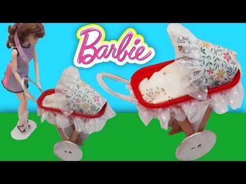 Barbie Bebek Arabası Yapımı | Oyuncak Butiğim - YouTube