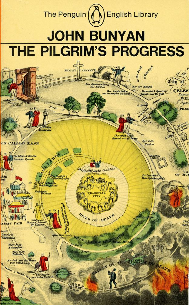 map of Pilgrim's Progress