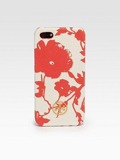 Whimsical flowers come alive on this protective iPhone case by Tory Burch. #mothersday