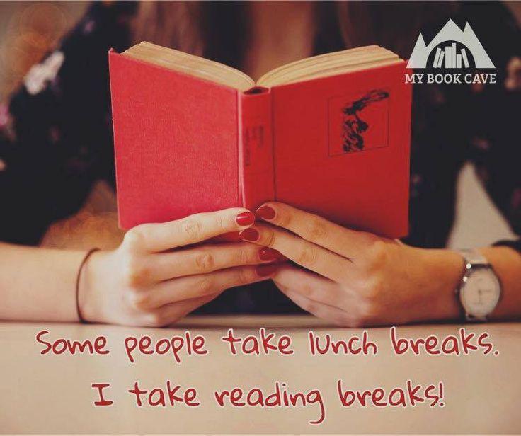 Lunch breaks for book lovers