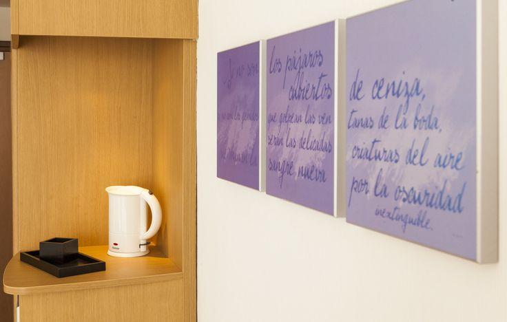 Frases que te llenan de vida en nuestro hotel en Valencia. www.confortelvalencia.com