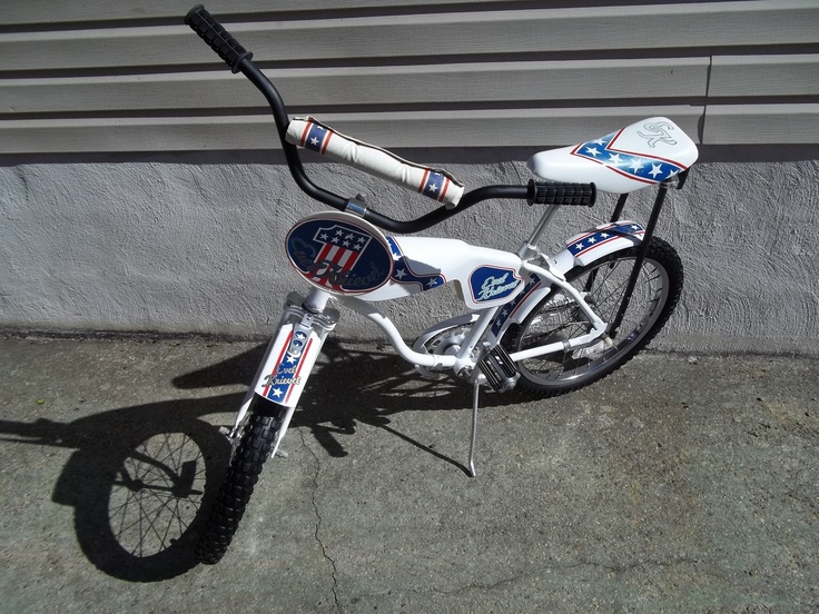 Evel Knievel S Movie Bike Up For Auction: Rare 1976 Evel Knievel Bicycle Bike