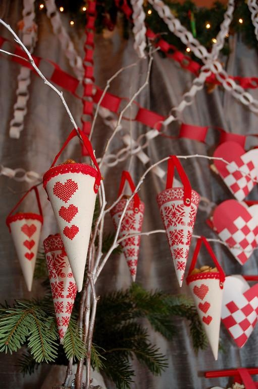 Swedish-Styled Gingerbread House Decorating Party | TikkiDo.com,,i bought these years ago from ikea! super!
