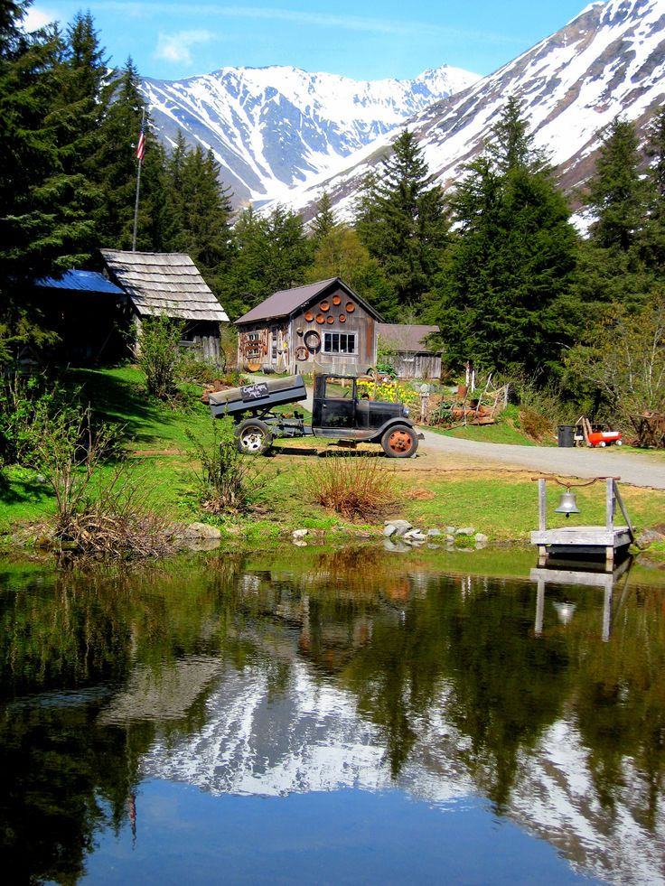 Crow Creek Mine in Girdwood, Alaska... hop off the Alaska Railroad's Glacier Discovery Train and spend some quality time in this historic village
