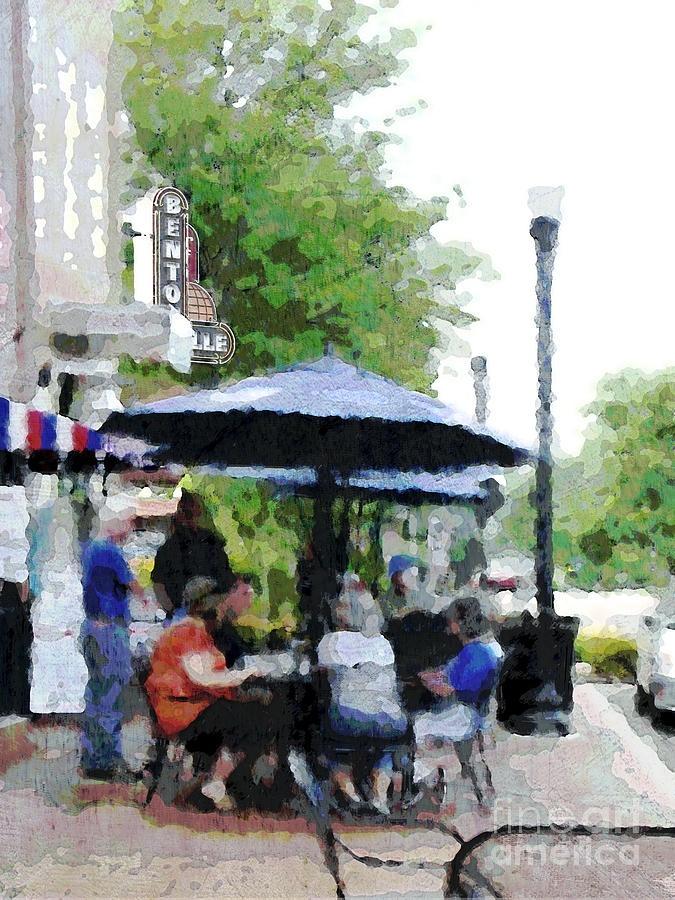 Bentonville On The Square Photograph  - Bentonville On The Square Fine Art Print