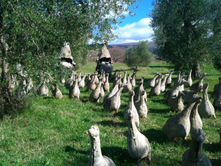 Il Giardino di Daniel Spoerry Seggiano GR Tuscany