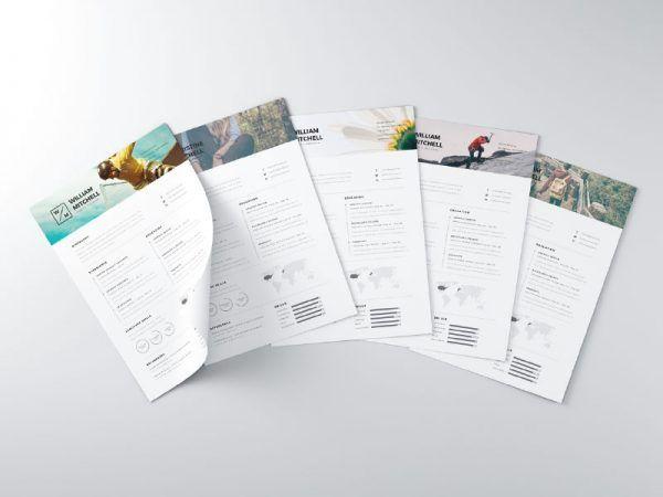free-minimal-clean-resume-template