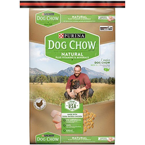 Purina Dog  Chow  High-quality protein Natural Plus Vitamins & Minerals 16.5 lb. #PurinaDogChow