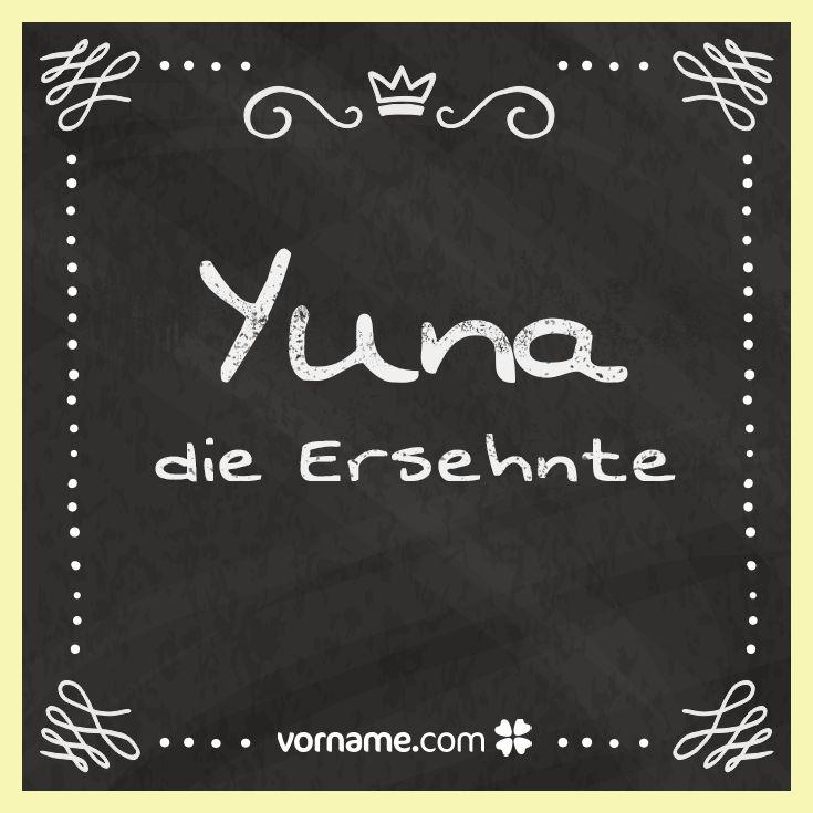 ▷ Vorname Yuna: Herkunft, Bedeutung & Namenstag – Vorname.com