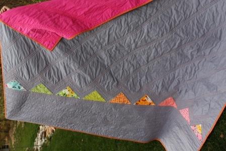 minimalistic quilt at work
