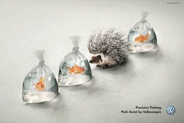 The precision parking ad campaign – by Volkswagen