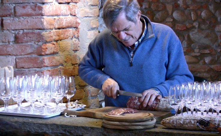 #Masters of Food & Wine - Park #Hyatt #Milano, January 2013 #salami