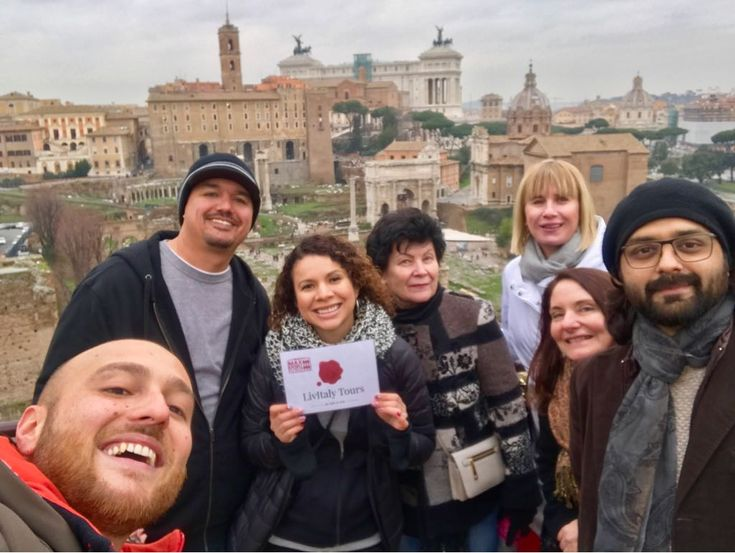 Have you visited the ancient city before? Our clients visited the Colosseum's tiers before taking this photo over the Roman Forum on March 1st. We couldn't be happier that our top-rated guide Luca was able to show our clients the Colosseum's tiers and show them the highlights of the Roman Forum while looking down on it. For more information about our Colosseum underground tour with arena, palatine hill & Roman Forum…