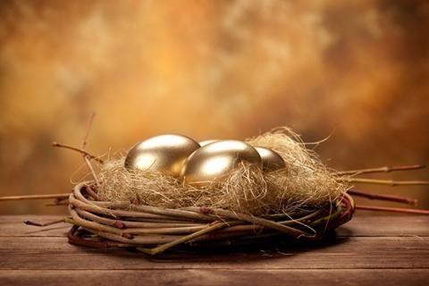 Золоченые яйца