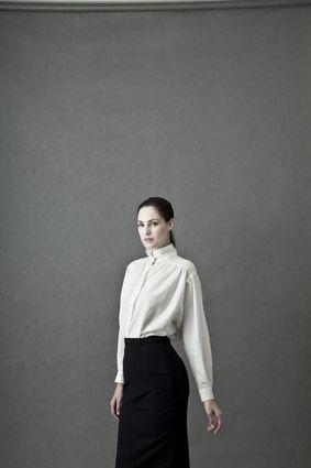 CHEMISE WHITE by Kristýna Javůrková