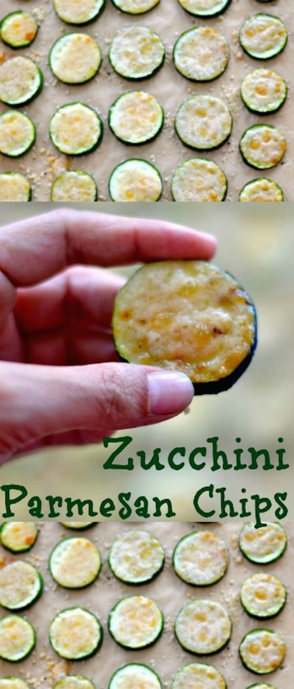 The Best Homemade Zucchini Parmesan Chips