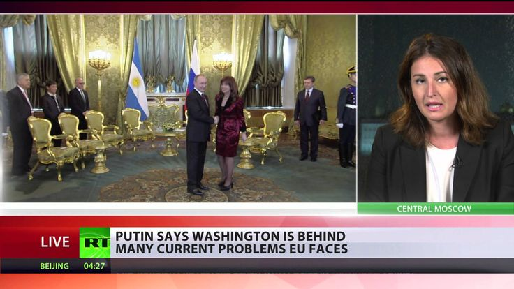 Putin: It's strange when we have to deal with the US in order to discuss...