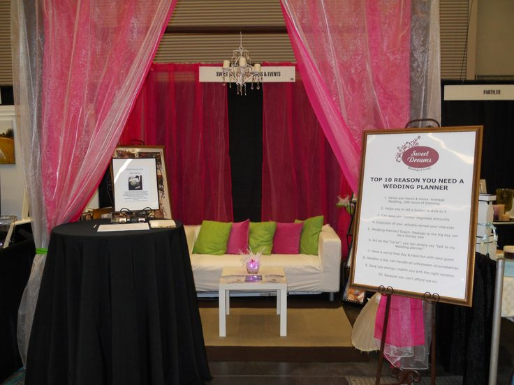 Wedding Planner Bridal Show Booth Ideas : Best images about booth ideas on purple