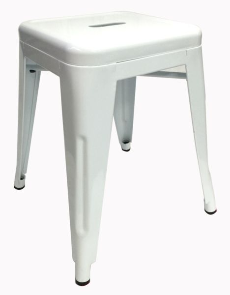 Buy Replica Tolix Stool 45cm White Online at Factory Direct Prices w/FAST, Insured, Australia-Wide Shipping. Visit our Website or Phone 08-9477-3441