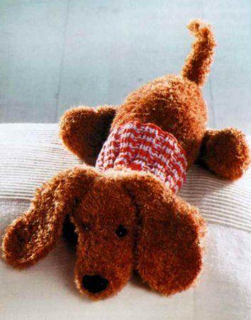 Вязаные игрушки спицами: СХЕМЫ, ОПИСАНИЯ