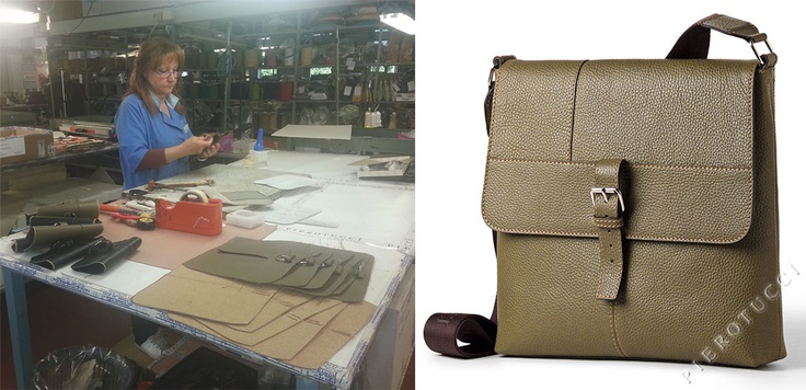 Renza building a #leather Messenger iPad bag. http://www.pierotucci.com/men/cross_body_bag/Mens_Leather_Messenger_and_iPad_Bag_soft_grain_2318.htm