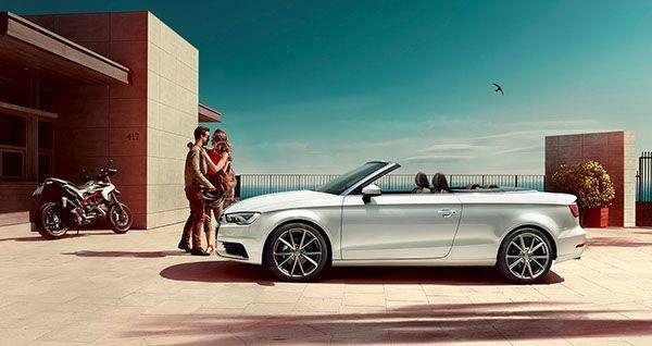 Audi A3 Cabrio on Behance