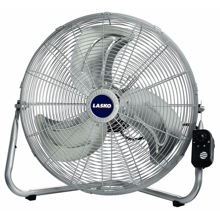 Lasko Max Performance High Velocity Fan, Silver